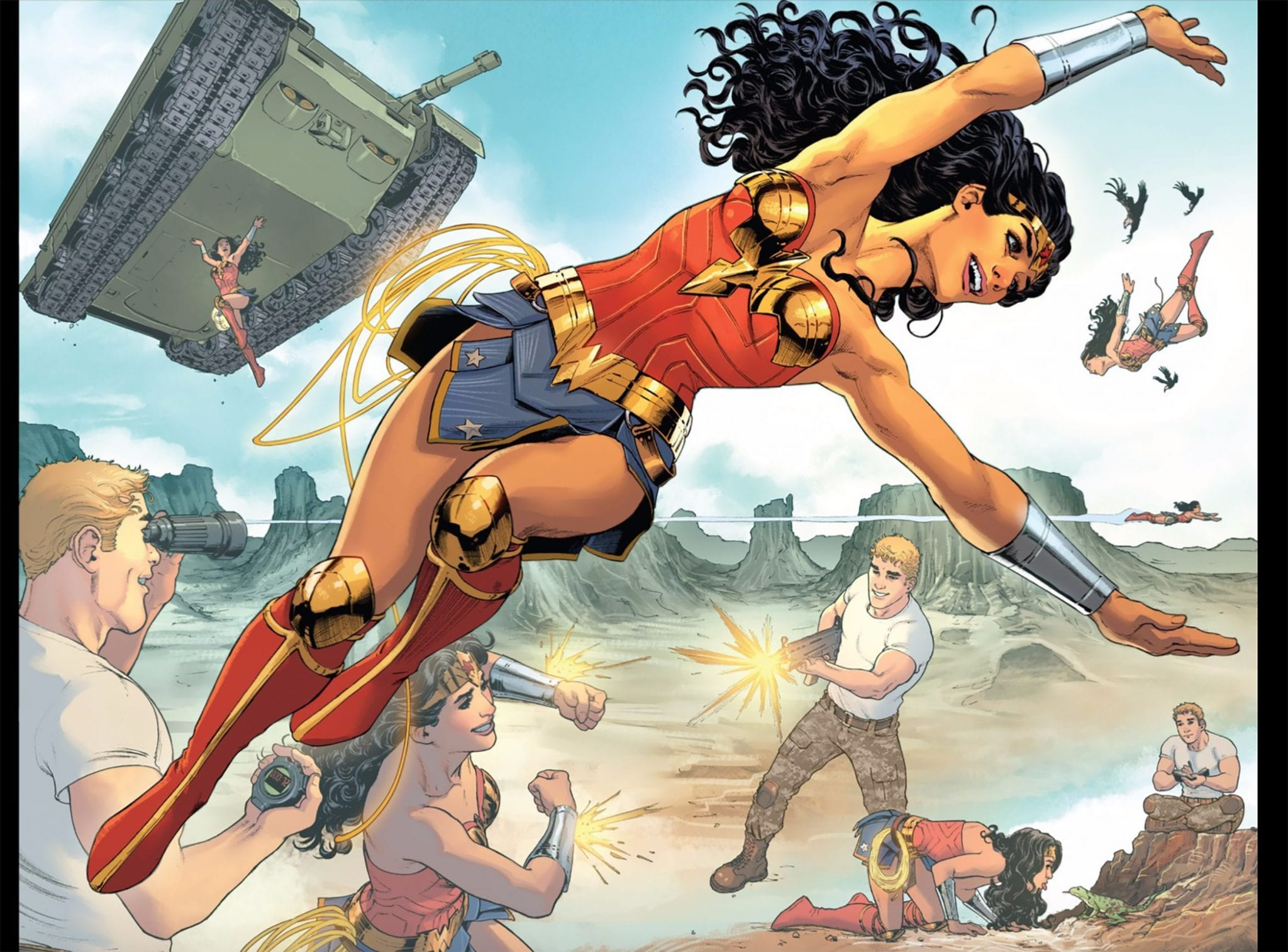 How Wonder Woman Redefines Gods and Superheroes