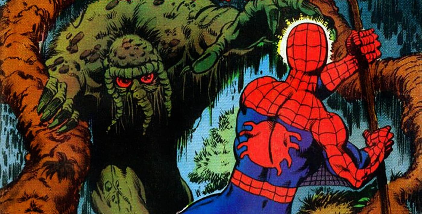 Marvel Previews R.L. Stine's MAN-THING Series