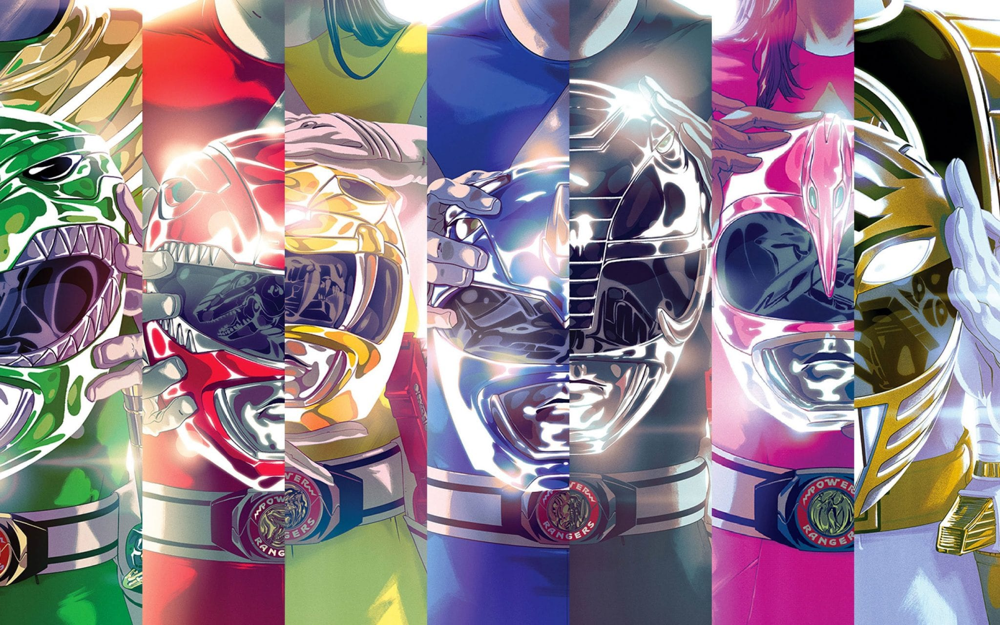 "Recommended: Boom's ""Mighty Morphin' Power Rangers"" Comics!"
