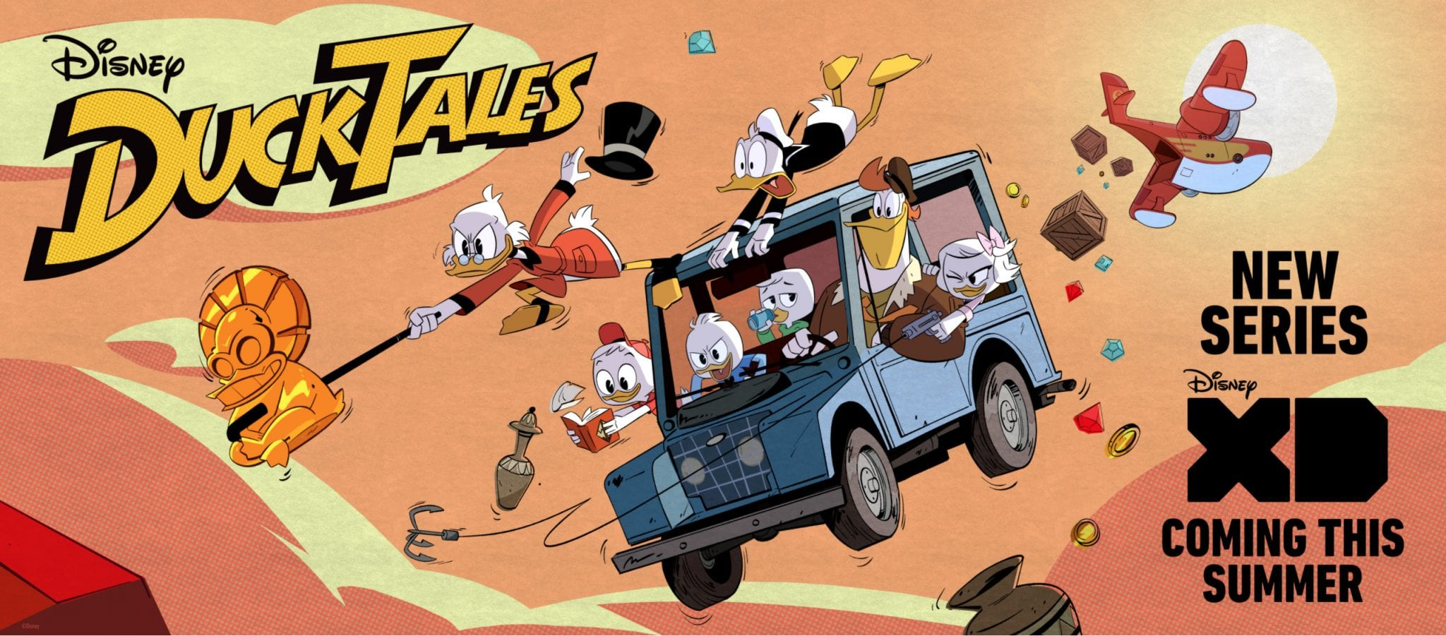 DuckTales Unveils New Clips!
