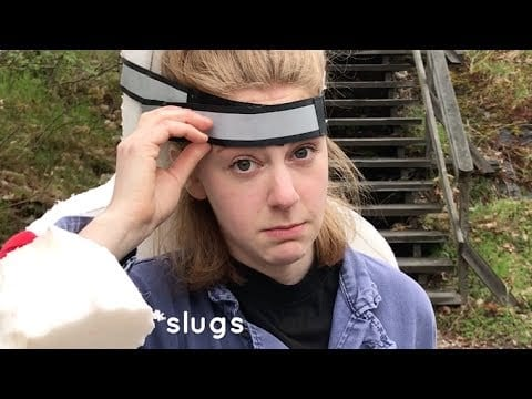 Simone Giertz Makes What We Really Need: A Wearable Matress!