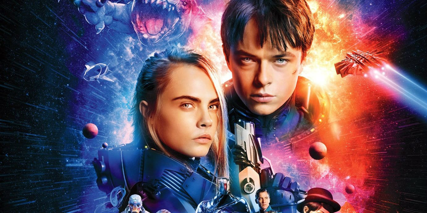 VALERIAN AND THE CITY OF A THOUSAND PLANETS Dazzles In Three Dimensional Splendor