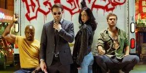 Marvel Netflix Daredevil Jessica Jones Luke Cage Iron Fist