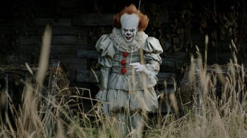 Pennywise cracking wise.
