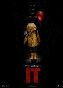 """IT"" 2017 Movie Poster"