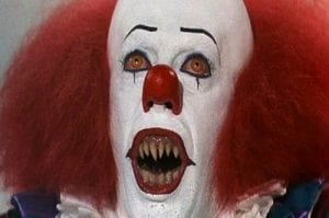 Tim Curry: The OG Scary Clown, 1990